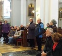 Sreda v Šentpetrski cerkvi